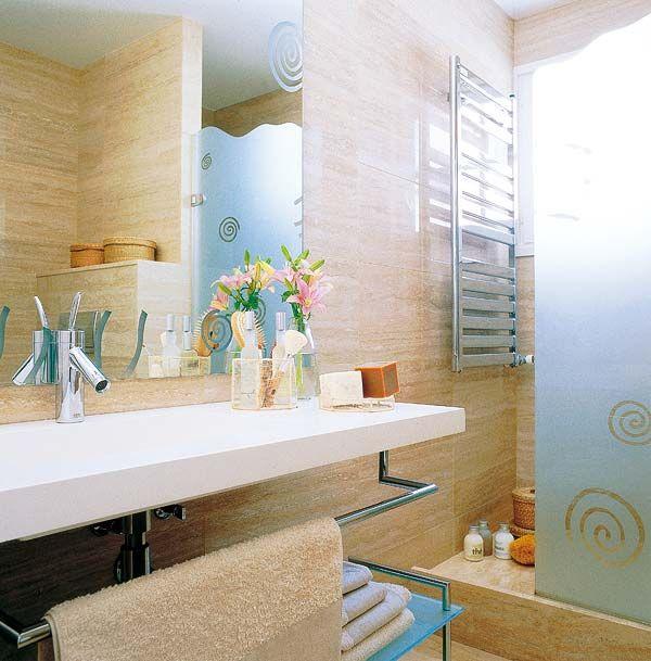 Cuatro baos con ducha