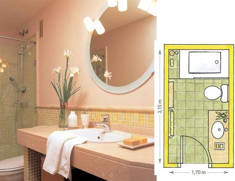 Lighting, Interior design, Room, Bathroom sink, Property, Plumbing fixture, Tile, Wall, Sink, Tap,