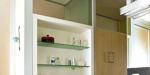 Room, Floor, Wood, Interior design, Flooring, Cupboard, Wall, Wood flooring, Shelving, Cabinetry,