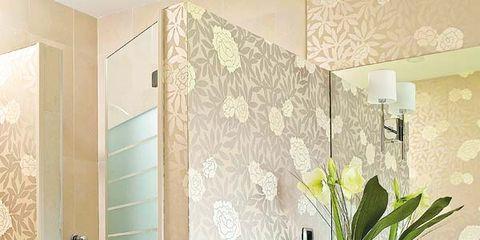 Room, Interior design, Property, Wall, Floor, Ceiling, Interior design, Flooring, Glass, Tile,