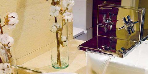Plumbing fixture, Bathroom sink, Yellow, Fluid, Tap, Glass, Interior design, Sink, Bathroom accessory, Ceramic,