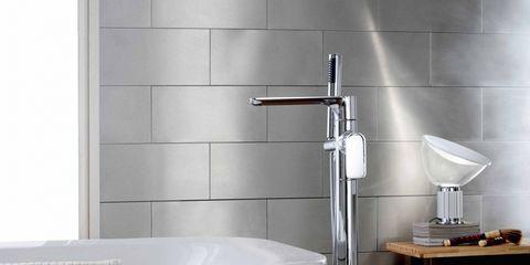 Plumbing fixture, Floor, Room, Wall, Flooring, Tap, Bathtub accessory, Plumbing, Beige, Sink,