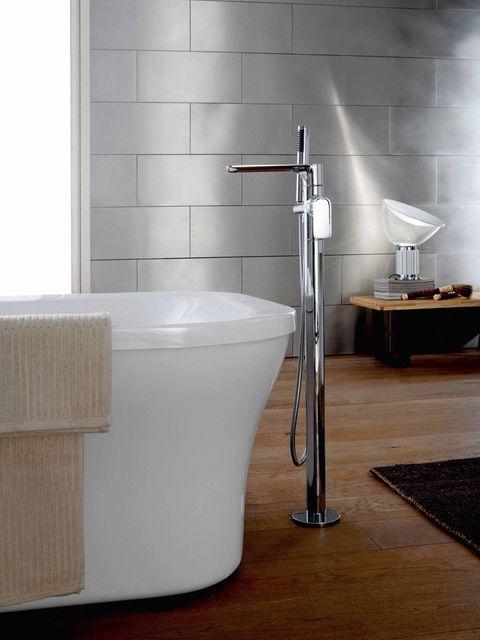 Product, Floor, Wall, Room, Flooring, Plumbing fixture, Bathtub accessory, Household supply, Plumbing, Composite material,