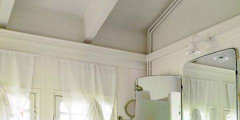 Plumbing fixture, Room, Interior design, Architecture, Floor, Bathroom sink, Property, Tile, Flooring, Wall,