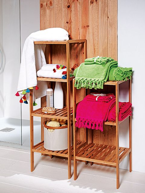 Wood, Room, Interior design, Hardwood, Linens, Shelving, Plywood, Bunk bed, Shelf,