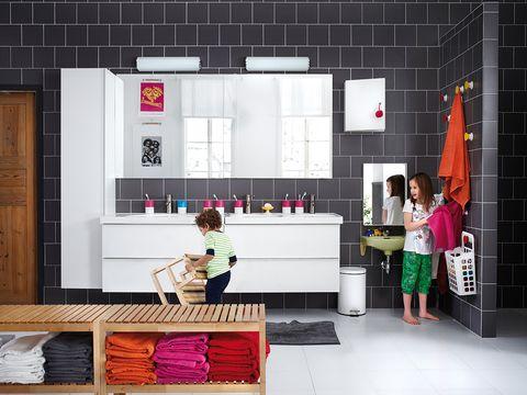Pink, Magenta, Door, Cabinetry, Shelving, Shelf, Home door, Drawer,