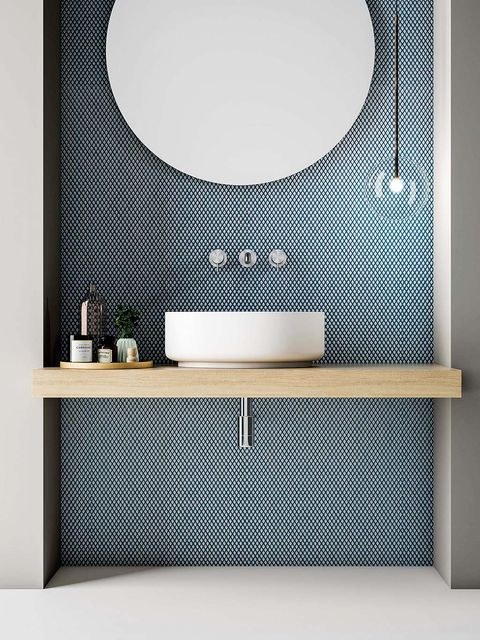 Tile, Bathroom, Room, Product, Bathroom cabinet, Bathroom accessory, Wall, Sink, Floor, Interior design,