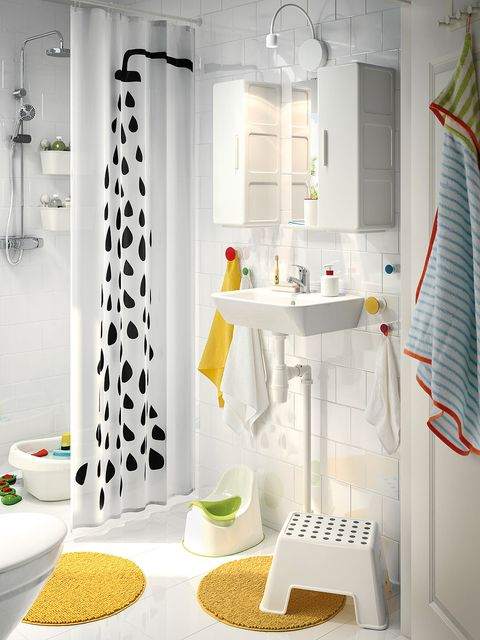 Product, Room, Interior design, Wall, Plumbing fixture, Interior design, Fixture, Tile, Household supply, Shower curtain,