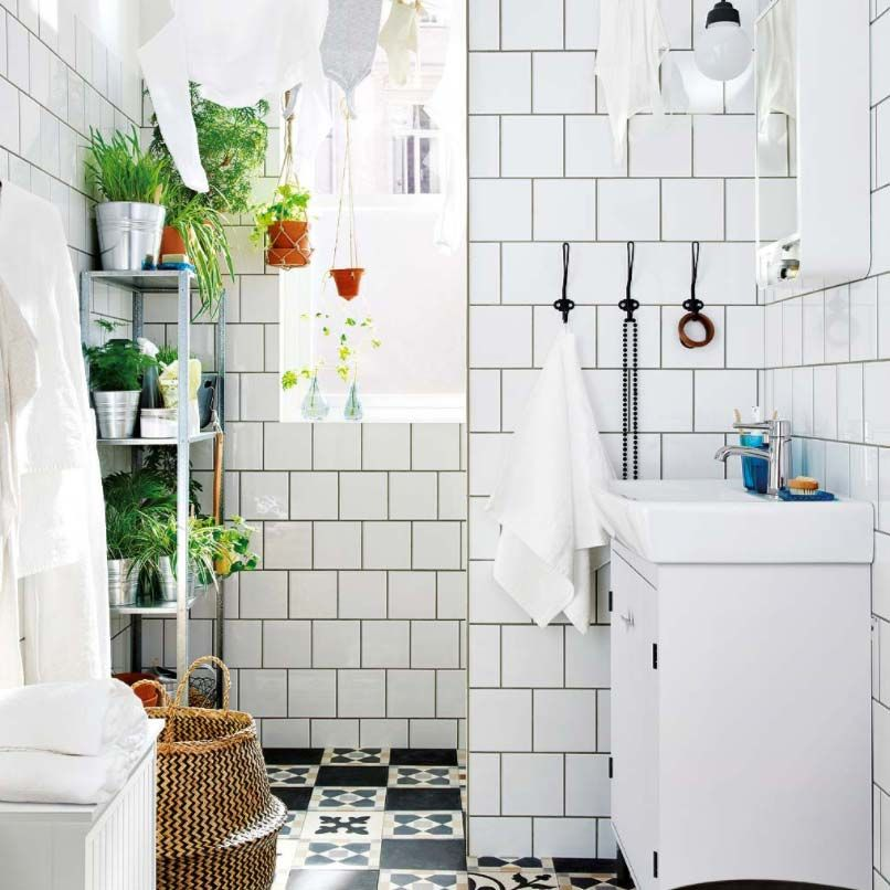 Consejos para baños pequeños - Cómo decorar un baño pequeño
