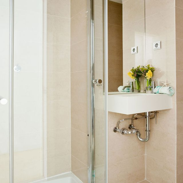 baño pequeño bien decorado