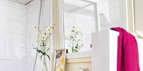 Room, Interior design, White, Purple, Shelving, Magenta, Interior design, Home, Grey, Porcelain,
