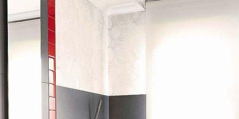 Plumbing fixture, Room, Interior design, Tap, Property, Architecture, Wall, Floor, Bathroom sink, Countertop,