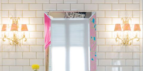 Room, Interior design, Property, Wall, Tile, Bathroom cabinet, Interior design, Window treatment, Bathroom sink, Fixture,