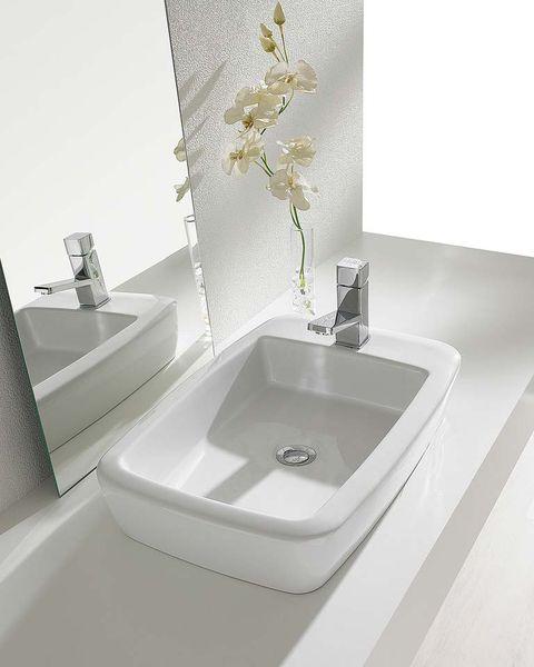 lavabo rectangular eos, de gala