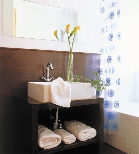Ocho lavabos para ba os peque os - Mueble lavabo pequeno ...