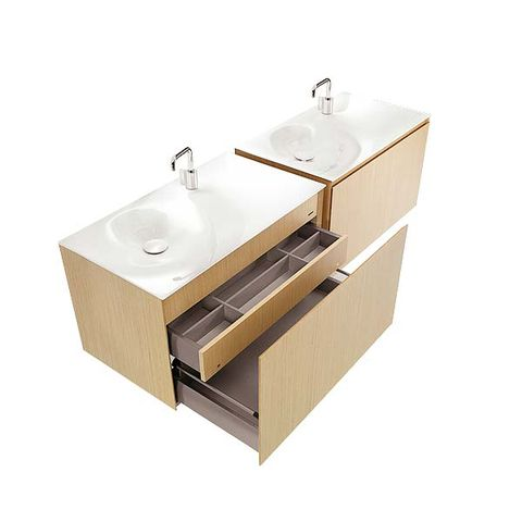 Product, Plumbing fixture, Sink, Grey, Tap, Beige, Bathroom sink, Kitchen appliance accessory, Composite material, Cabinetry,