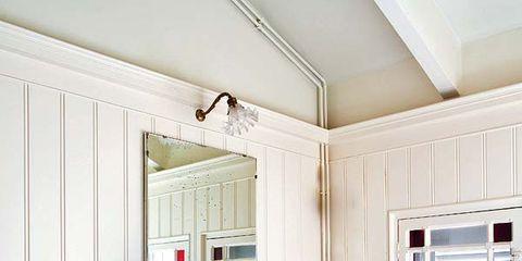 Room, Interior design, Plumbing fixture, Floor, Property, Flooring, Tap, Wall, Ceiling, Real estate,