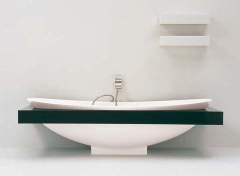 Plumbing fixture, Property, Wall, Line, Bathroom accessory, Bathtub accessory, Ceramic, Plumbing, Bathroom, Bathroom sink,