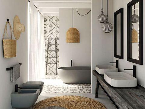 los 25 ba os m s bonitos que hemos encontrado en pinterest. Black Bedroom Furniture Sets. Home Design Ideas
