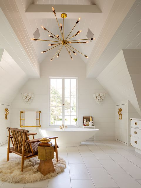 Ceiling, Room, White, Interior design, Property, Building, Furniture, Floor, Wall, House,
