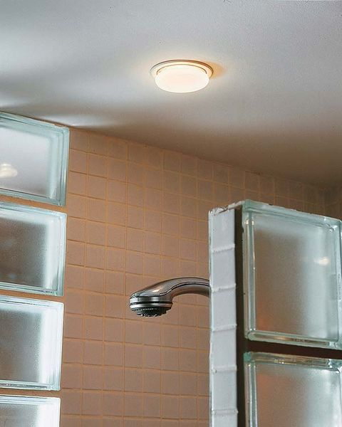 Wall, Room, Ceiling, Fixture, Light fixture, Paint, Plaster, Ceiling fixture, Electrical supply, Building material,