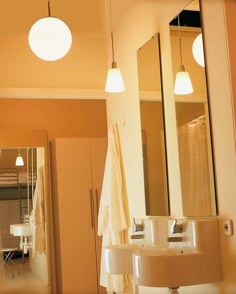 C mo elegir la luz apropiada en el ba o - Iluminacion cuarto de bano ...