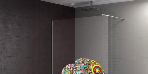 Wall, Ceiling, Fixture, Light fixture, Art, Modern art, Ceiling fixture, Visual arts, Design, Tile,
