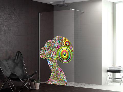 Wall, Ceiling, Floor, Light fixture, Art, Modern art, Ceiling fixture, Design, Visual arts, Stool,