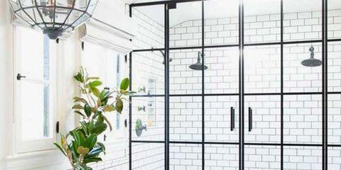 Room, Architecture, Tile, Interior design, Ceiling, Door, Window, Plant, Daylighting, Flooring,