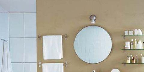 Room, Interior design, Bathroom sink, Property, Architecture, Plumbing fixture, Floor, Flooring, Wall, Tap,