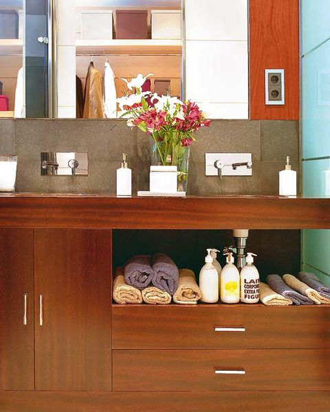 Wood, Room, Shelving, Drawer, Wall, Interior design, Cabinetry, Sideboard, Cupboard, Interior design,