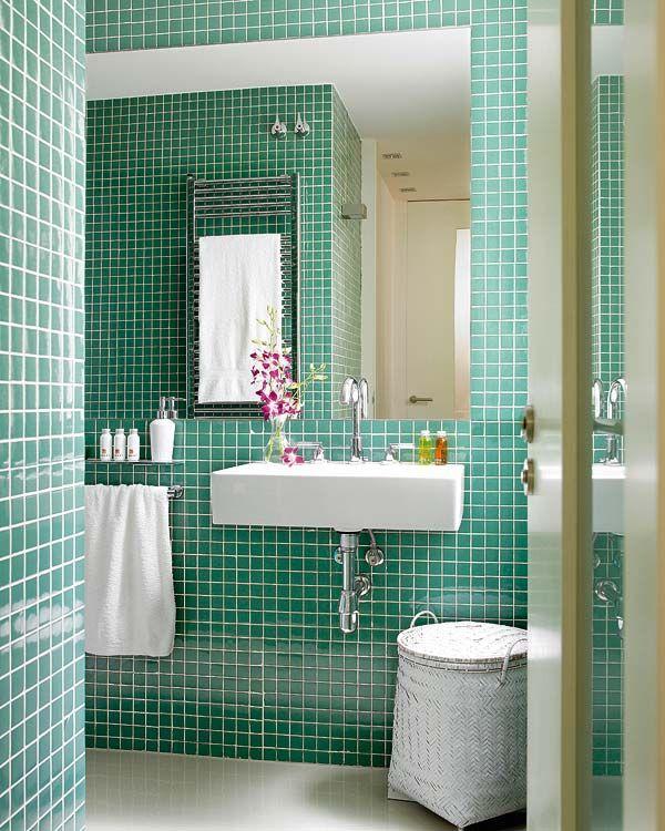 9ba92a6b51732 Paredes cerámicas para el cuarto de baño