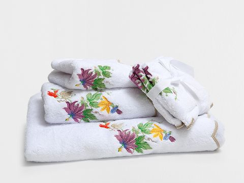 Textile, Lavender, Home accessories, Creative arts, Cushion, Floral design, Embroidery, Stitch, Natural material, Linens,