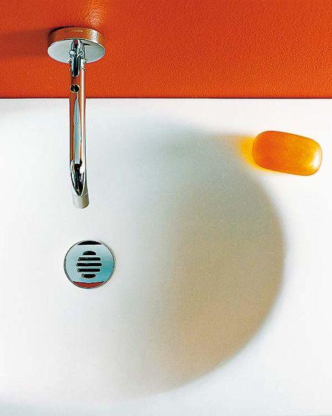 Plumbing fixture, Liquid, Fluid, Line, Amber, Orange, Plumbing, Tap, Composite material, Bathroom accessory,