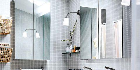 Plumbing fixture, Room, Interior design, Property, Wall, Tile, Bathroom sink, Interior design, Tap, Sink,