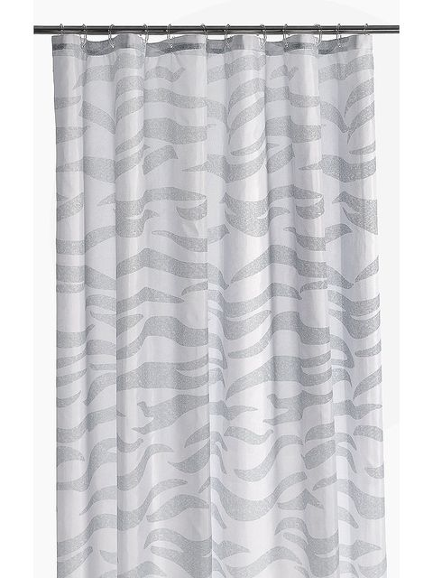 Textile, Interior design, Pattern, Window treatment, Linens, Grey, Tints and shades, Silver, Pattern, Silk,