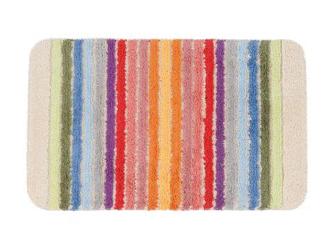 Turquoise, Orange, Yellow, Rectangle, Textile, Kitchen towel, Mat, Pattern, Linens, Towel,