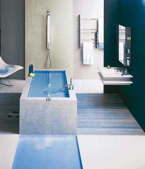 Architecture, Interior design, Room, Plumbing fixture, Property, Glass, Tap, Floor, Real estate, Wall,