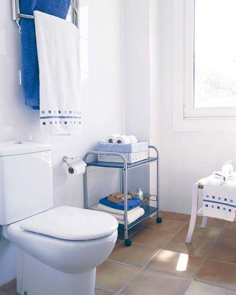 Blue, Room, Property, Interior design, Toilet seat, Wall, Floor, Plumbing fixture, Purple, Toilet,