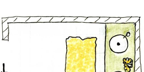 Yellow, Line, Rectangle, Parallel, Illustration, Drawing, Paper,