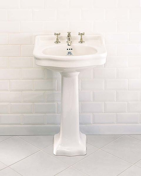 Plumbing fixture, Property, Fluid, Wall, Floor, Bathroom sink, White, Tile, Flooring, Tap,
