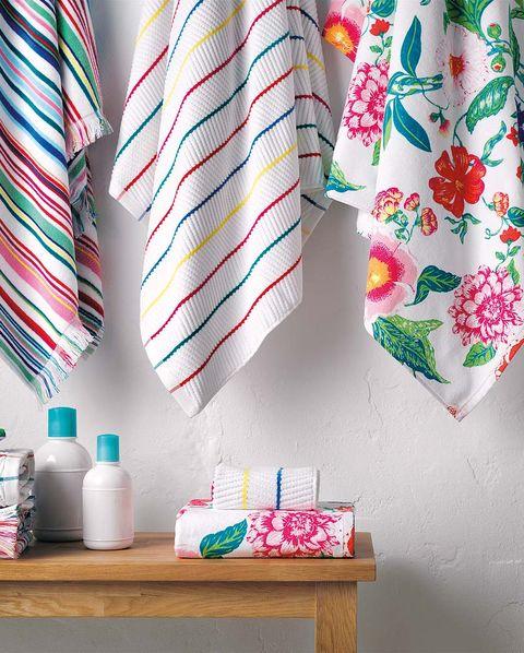 toallas multicolor