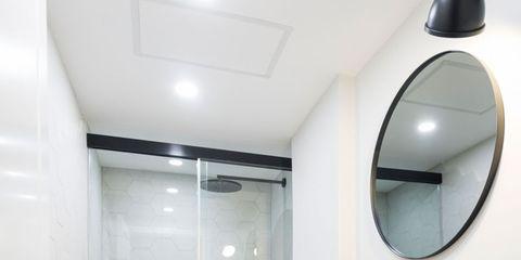 Architecture, Wood, Room, Interior design, Plumbing fixture, Bathroom sink, Property, Wall, Floor, Glass,