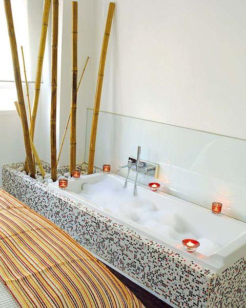Wall, Plumbing fixture, Composite material, Rectangle, Tap, Plumbing, Bathroom accessory, Bathroom, Tile, Plumbing fitting,