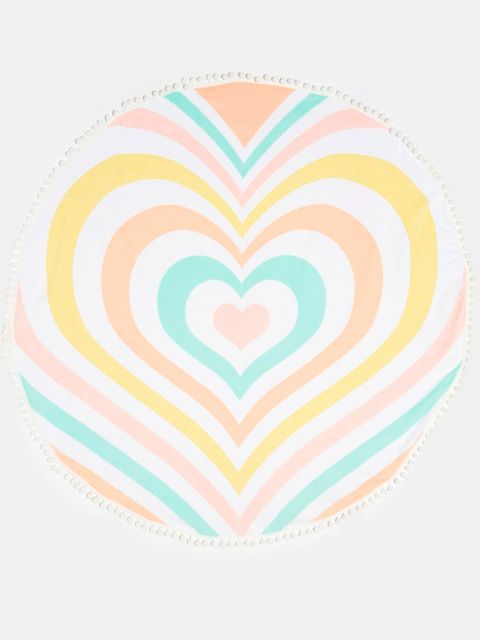 Pattern, Heart, Pink, Colorfulness, Aqua, Turquoise, Teal, Art, Orange, Visual arts,