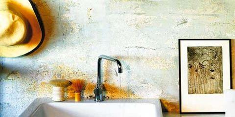 Plumbing fixture, Bathroom sink, Tap, Sink, Plumbing, Interior design, Bathroom accessory, Household hardware, Rectangle, Plumbing fitting,