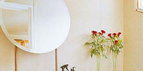 Room, Bathroom sink, Property, Interior design, Plumbing fixture, Wall, Interior design, Bathroom cabinet, Sink, Tap,