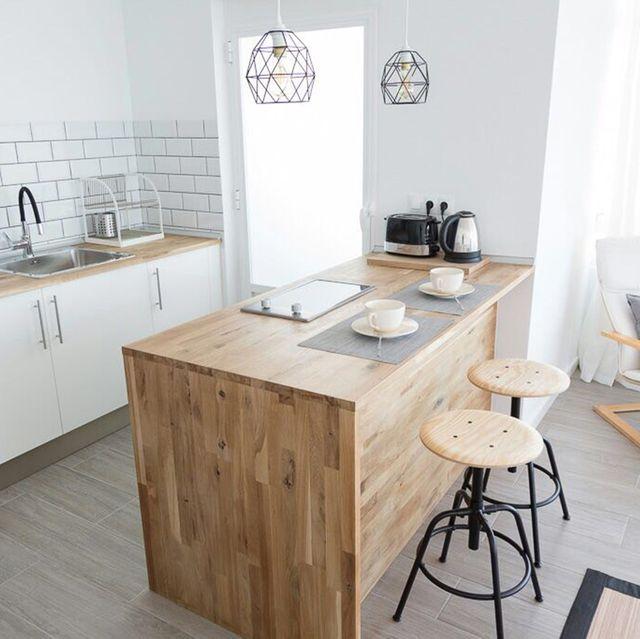 la casa de aurora antes y después cocina abierta