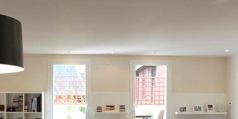 Room, Interior design, Floor, Furniture, Flooring, Interior design, Drawer, Ceiling, Lampshade, Cabinetry,