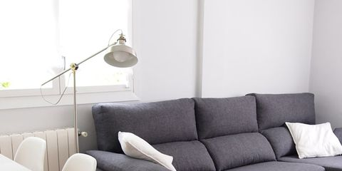 Room, Interior design, Wood, Floor, Living room, Furniture, Home, White, Couch, Flooring,